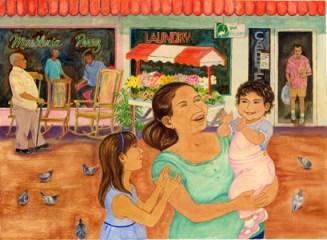 art from Arrorró, mi niño