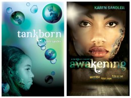 covers of Tankborn and Awakening