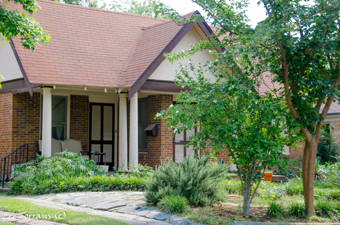 Dallas Landscape Design: Vickery Park Original Dallas Neighborhood