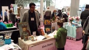 Elvis Deane author of Pistachio the Tyrant!