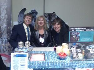 Three Amigos at INSPIRE! TIBF GALA: Husband Kevin, Lee, sister Lynn