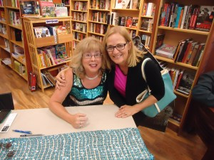 And friend, Nancy. Thank you to all who came out to help celebrate the launch of Destiny's Gate.