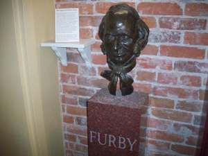 The Legend of William Furby, Father of Journalism in Port Hope. Rub his head and you will gain success in everything to do with paper and ink.
