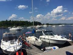 Beautiful docks at Beausoleil Island.