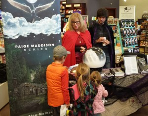 Chapters Barrie with future readers of the Paige Maddison Series. Ages 10+