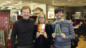 J.R. and I were happy to drop in and see Douglas Gardham at his book signing, Indigo Bay Bloor. Great to see you Douglas.