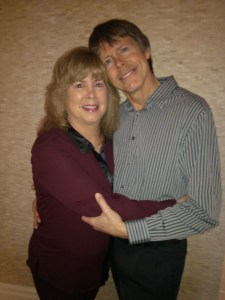 Pictured here with my husband, Kevin Matheson. You win for the Best Husband Ever! Love you, Dear.