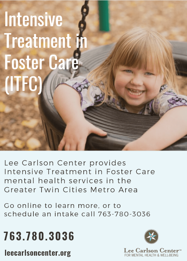 Intensive Treatment in Foster Care now available throughout the twin cities metro area