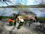 Memorial over deceased