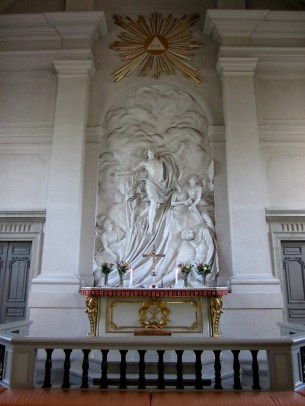 Altar image made by Johan Tobias Sergel, Jesu resurrection