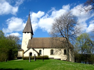Beautiful church of Salem/Stockholm