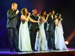 Celtic Nights singers perform on stage