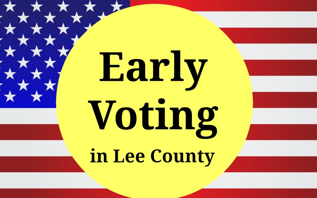 Early Voting Information 2018