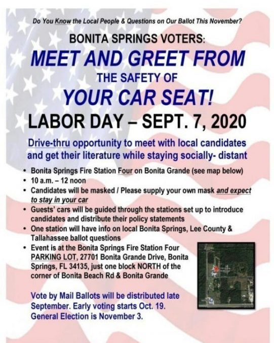 Labor Day Candidate Meet 'n Greet From Your Car