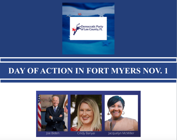 DAY OF ACTION IN FORT MYERS – NOV. 1