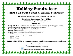 Holiday Fundraiser for Gladiolus Food Pantry