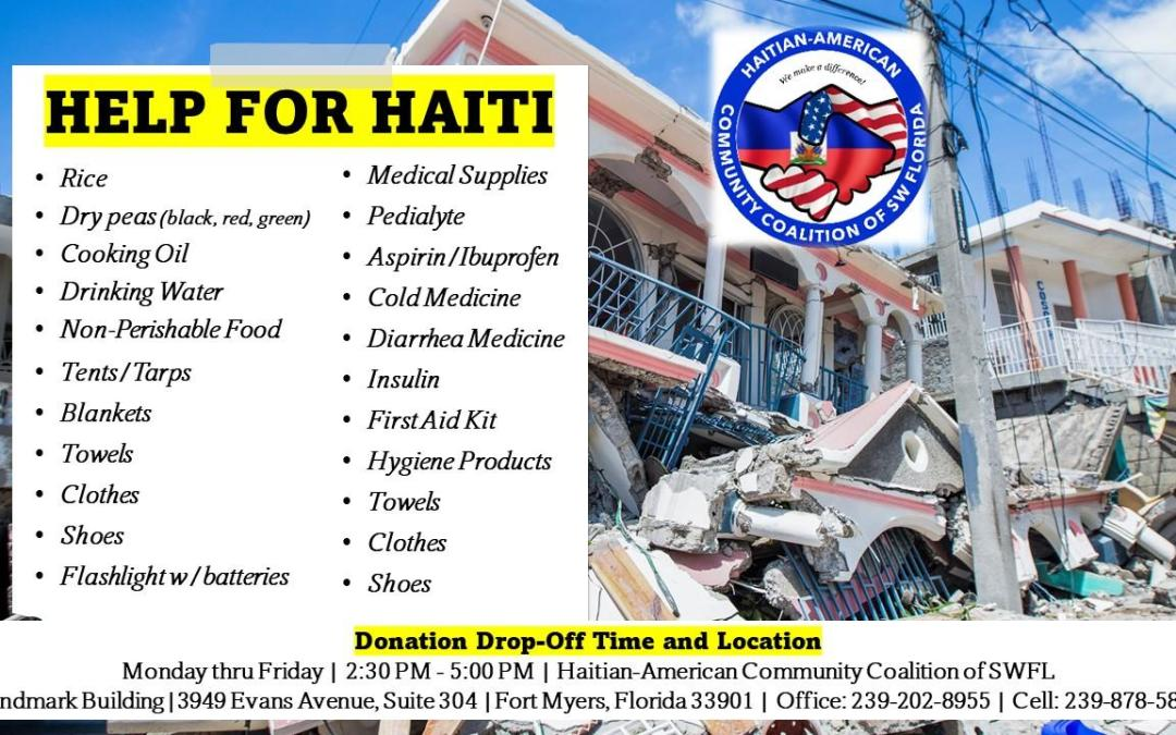 Emergency Donations Needed for Haiti's Earthquake Victims!