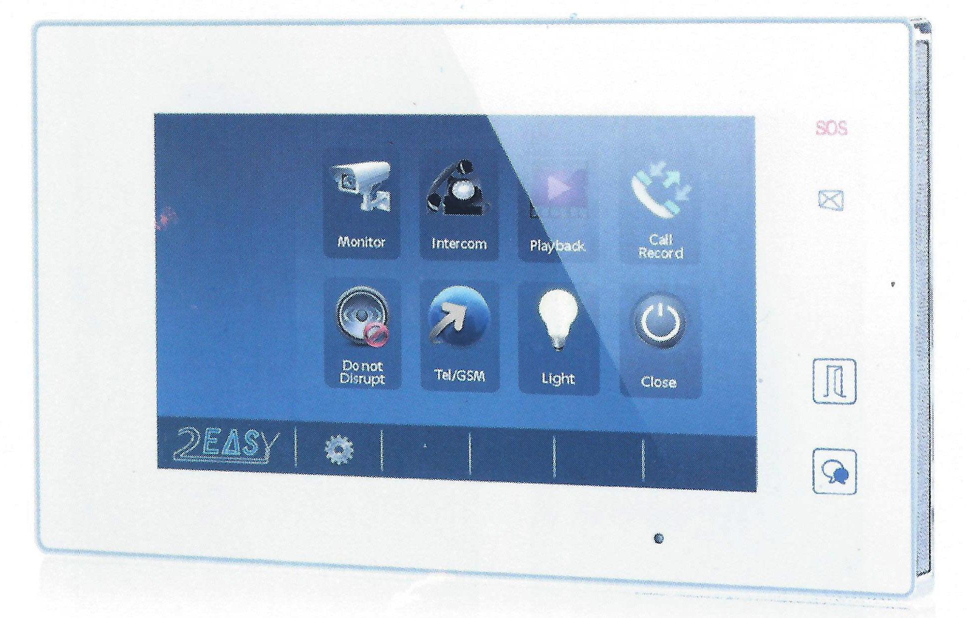 Color Video Intercom Systems & Doorphone Kits By 2Easy