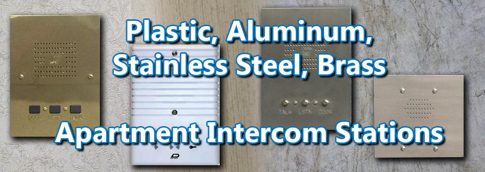 Apartment Intercoms, Lobby Panels, Color Video Intercom