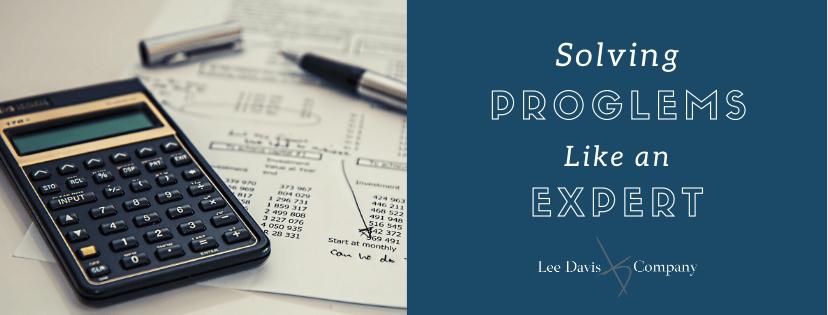 Solving Problems Like an Expert