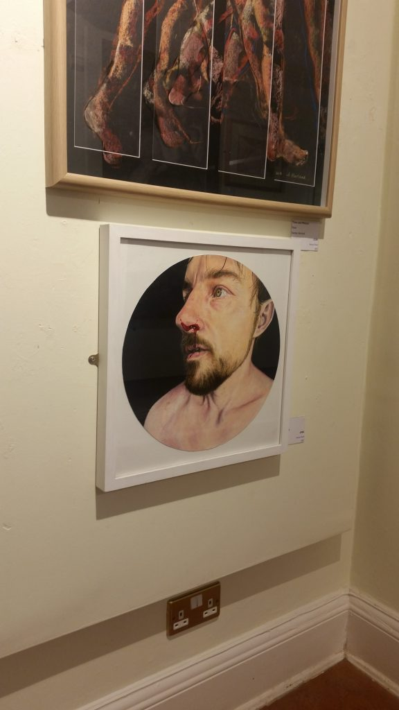 """""""Fight"""" by Lee Devonish at the Haworth Open Annual in Accrington."""