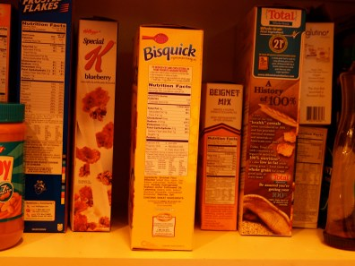 Photographic proof - the Bisquick fits