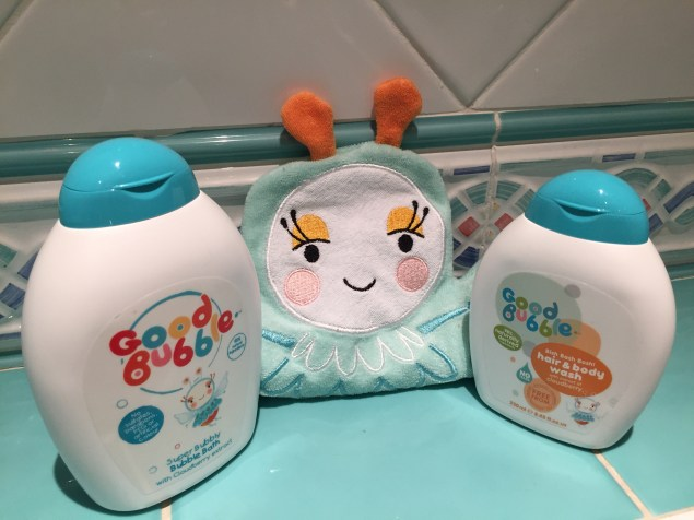 Of course one of the key things to remember about toddlers and bad weather is that they will get mucky! Good Bubble not only gets your little ones clean and smelling good again but it's also made from natural ingredients.