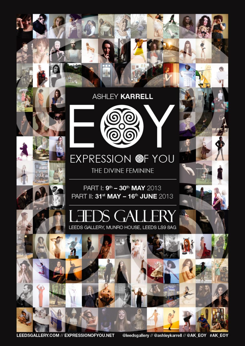 Expression of You, Exhibition Poster