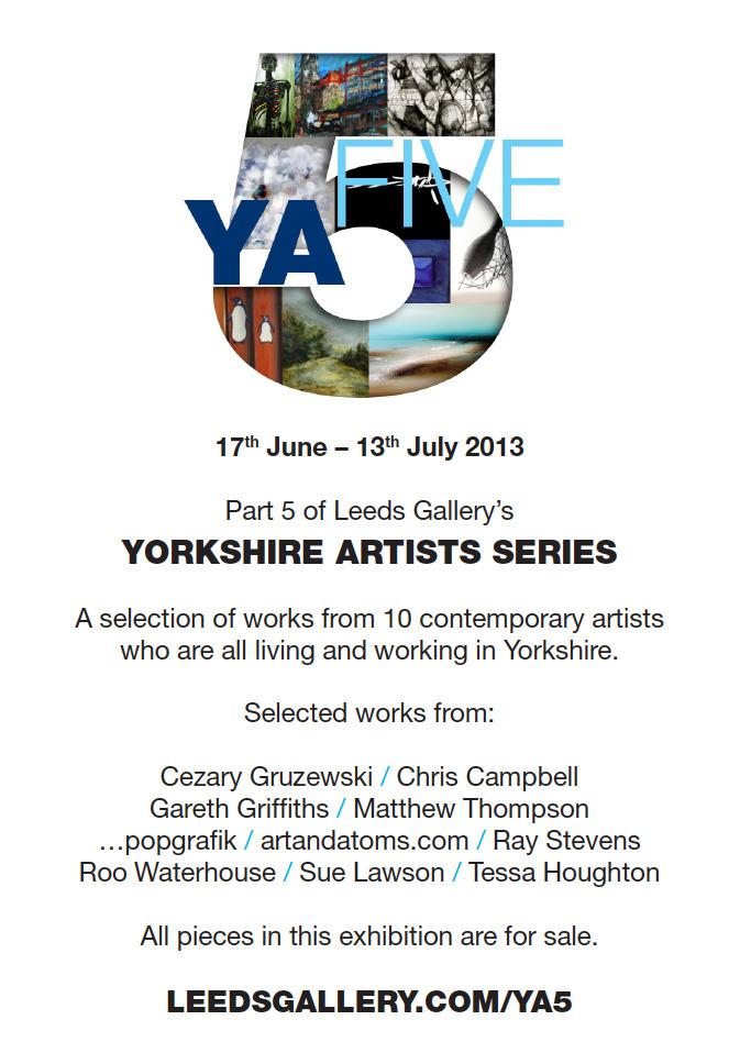 YA5 A4 Poster, June 2013