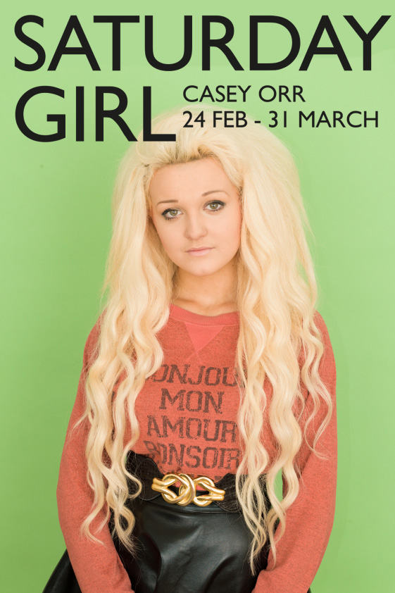Saturday Girl, Poster, March 2014
