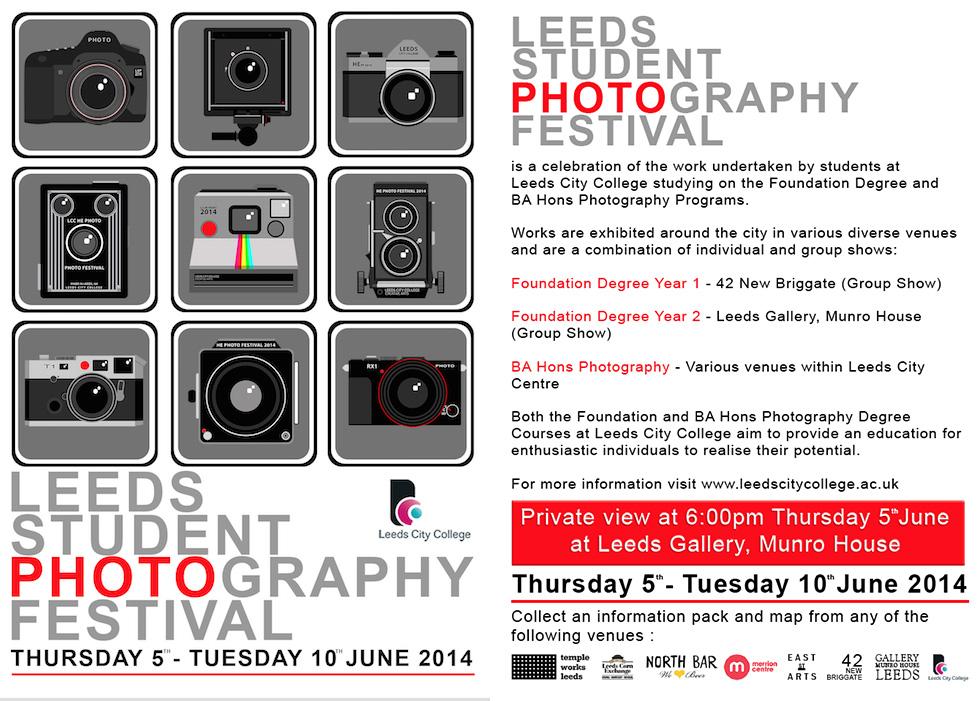 Leeds Student Photo Festival 2014