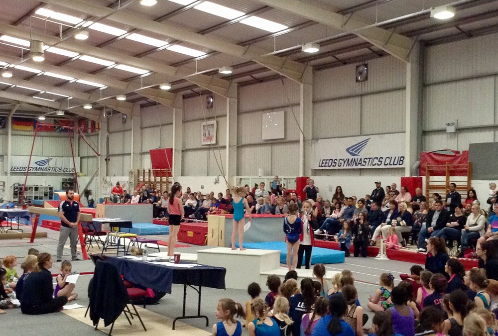 Gymnastics for All Competition on 29th May 2017