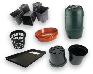 Pots, Trays & Containers