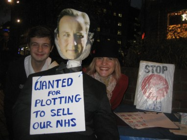 KONP plot aginst the NHS protest 5.11.13 019