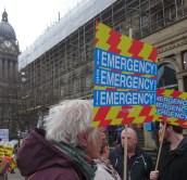 NHS Emergency placard