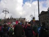 marching along Kirkgate