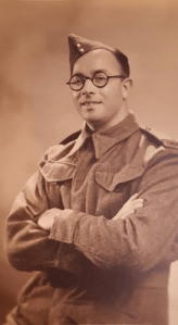 Siegfried Schrotter, who escaped Vienne and came to Leeds with his family just beforee the outbreak of WW2