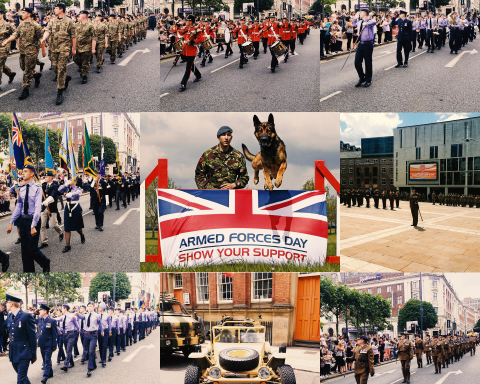 Armed Forces Day Leeds 2017