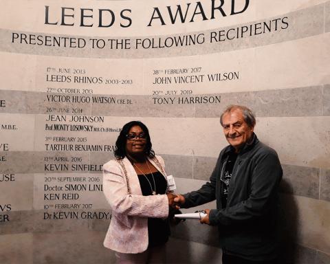 Tony.Harrison - Leeds Award