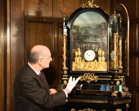 George Pyke's Musical Clock