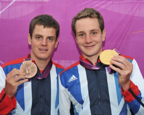 Jonathan and Alistair Brownlee
