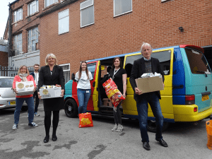 Leeds Foodbank Delivery Photo