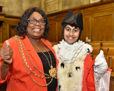 Lord Mayor of Leeds Councillor Eileen Taylor