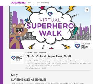 Superhero Walk