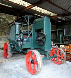 A Leeds-made ploughing windlass, like those exported around the world by local firms.