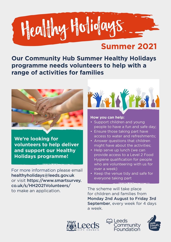 2021 Healthy Holidays Volunteers