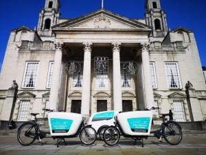 E-Cargo Bikes Leeds City Centre