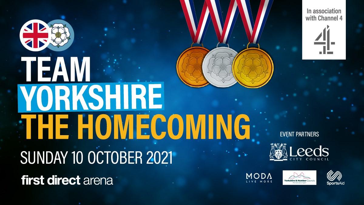 Team Yorkshire Celebration