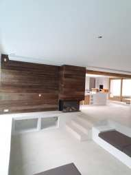 Leef-Beton vloer woonkamer