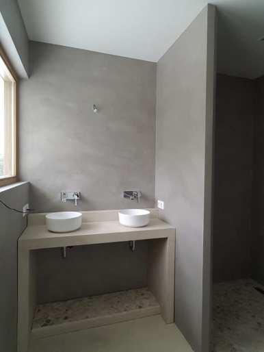 Leef-beton badkamer